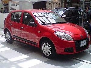 Dacia Sandero - Facelifted Renault Sandero (Colombia)