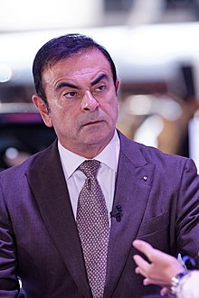 Photographie de Carlos Ghosn en 2012.