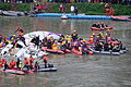 Rescue Team Searching Crashed B-22816 in Keelung River 20150204i.jpg