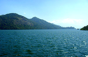 Thenmala Dam - Reservoir of Thenmala Dam