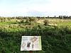 foto van Terrein waarin sporen van een militaire nederzetting