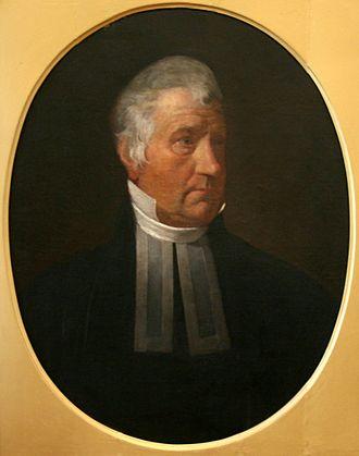 Harry Croswell - Image: Rev. Harry Croswell circa 1835