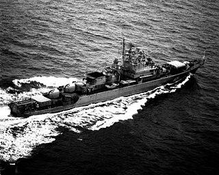 Soviet frigate <i>Rezkiy</i>