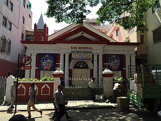 Bengaluru Pete - Rice Memorial Church, Avenue Road, Bangalore, (2016)