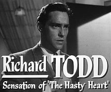 Richard Todd in Stage Fright trailer.jpg
