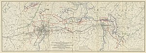 Richmond Union Passenger Railway - Image: Richmond Petersburg Map from Virginia Power Passenger & Power Co