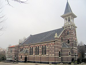Koudekerk aan den Rijn - Reformed church, 19th century