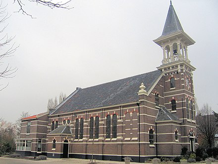 Reformed church in Koudekerk aan den Rijn (Netherlands), 19th century Rijnwoude 019.jpg
