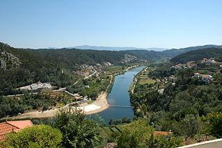 Penacova Municipality in Centro, Portugal