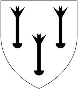 Tristram Risdon - Image: Risdon Arms Field Argent