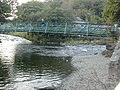 River confluence and footbridge in Beddgelert - geograph.org.uk - 62716.jpg