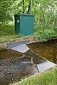 River flow meter on Dockens Water at Moyles Court - geograph.org.uk - 804111.jpg