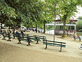 Riverside benches and bandstand, Chester - DSC08016.JPG