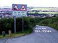 Roadsigns at Prestatyn Hillside Viewpoint - geograph.org.uk - 32200.jpg