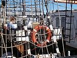 Roald Amundsen lifering Port of Tallinn 14 July 2017.jpg