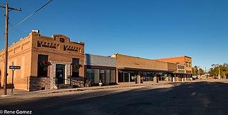 Roaring Springs, Texas - Downtown Roaring Springs, Texas