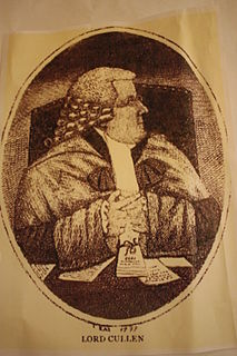 Robert Cullen, Lord Cullen Scottish judge