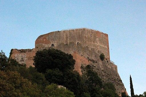 Rocca d'Orcia, Rocca Tentennano