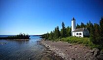 Rock Harbor Lighthouse at Isle Royale National park.jpg
