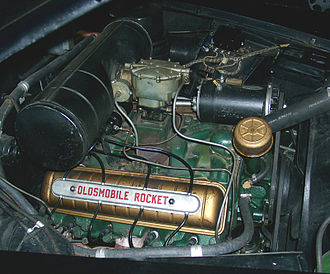Muscle car - 1949 Rocket 88 engine