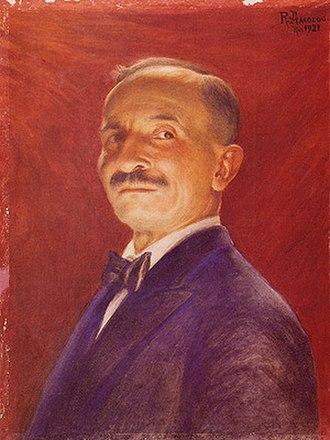Rodolfo Amoedo - Self-portrait (1921)