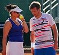 Roland Garros 20140530 Alexander Peya & Abigail Spears.jpg