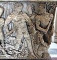 Roma, sarcofago con la morte di meleagro, collez. borghese, 180 dc ca. 04.JPG
