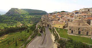 Rometta Comune in Sicily, Italy
