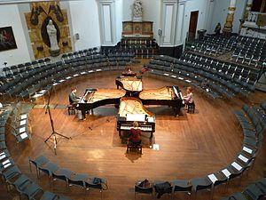 Fazioli - The Dutch Rondane Quartet plays on four Fazioli pianos