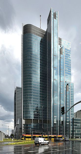 Ernst & Young - EY offices in Warsaw, Poland.