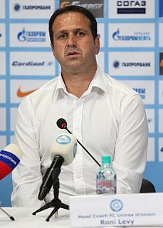 Ronny Levy Israeli footballer and manager