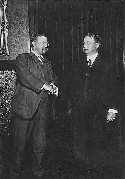 Roosevelt and Johnson after nomination