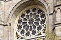 Rosace du croisillon ouest de l'église Saint-Aubin en Notre-Dame-de-Bonne-Nouvelle, Rennes, France.jpg