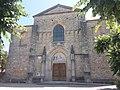 Rosières (Ardèche) - Église Notre-Dame de Rosières - Façade.jpg