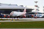 Rossiya (Caring for Tigers together Livery), EI-XLD, Boeing 747-446 (31405743686).jpg
