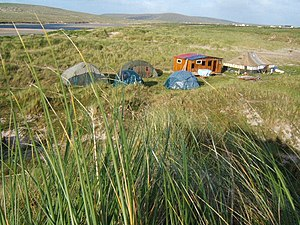 Protest camp - Rossport Solidarity Camp