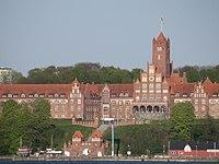 Rotes Schloss am Meer, Marine-Burg (Flensburg-Mürwik), 28 April 2014, Bild 01.JPG