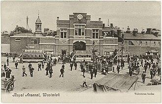 Royal Arsenal Gatehouse - Image: Royal Arsenal, Woolwich