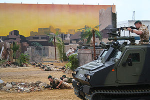 Royal Marines Armoured Support Group - Viking Armoured Vehicle of the Royal Marines during a demonstration at the Portsmouth International Festival in 2005.