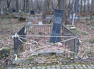 Moritz von Jacobi - Von Jacobi's tomb, from wife and children