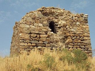 Kuş Island - Ruins of the small monastery