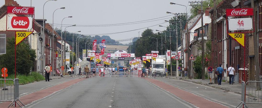 Rumillies (Tournai) - Tour de Wallonie, étape 1, 26 juillet 2014, arrivée (A01).JPG