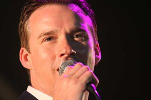 Russell Watson - Watson performing at Broadlands, in Hampshire, England, in 2007.