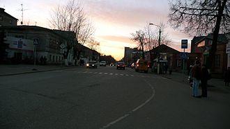Alexandrov, Vladimir Oblast - Lenina Street in Alexandrov