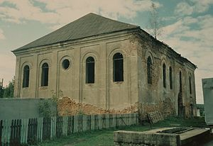 Ruzhany - Ruins of town Synagogue