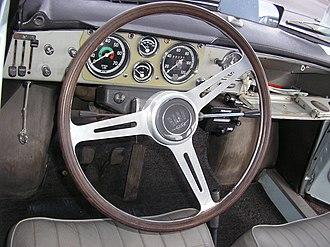 Saab GT750 - Dashboard of a Saab GT850.