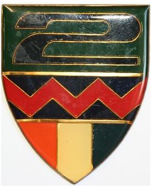 2 South African Infantry Battalion - SANDF 2 SAI emblem