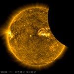 SDO Views 2017 Solar Eclipse (171 Angstrom).jpg