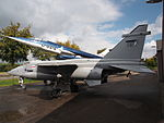 SEPECAT Jaguar XZ357 at the Piet Smits collection at Baarlo in Netherlands, pic 4.JPG