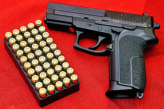 Semi-automatic firearm - SIG Pro semi-automatic pistol